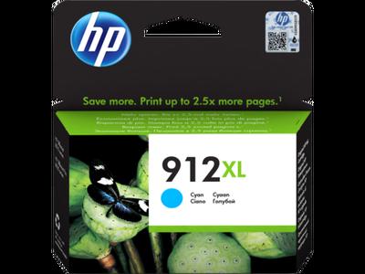 HP - HP 912XL 3YL81AE Mavi Orjinal Kartuş OfficeJet Pro 8012, 8014, 8015, 8022, 8024, 8025