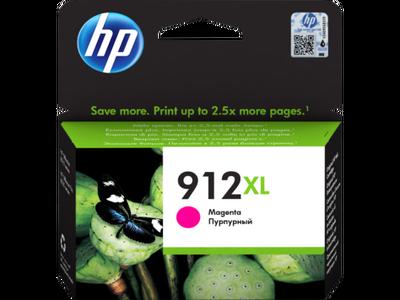 HP - HP 912XL 3YL82AE Kırmızı Orjinal Kartuş OfficeJet Pro 8012, 8014, 8015, 8022, 8024, 8025