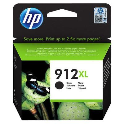 HP - HP 912XL 3YL84AE Siyah Orjinal Kartuş OfficeJet Pro 8012, 8014, 8015, 8022, 8024, 8025