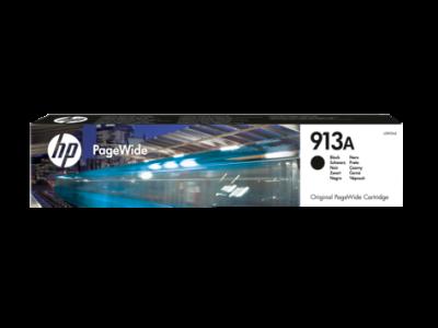 HP - HP 913A L0R95AE SİYAH ORJİNAL PageWide KARTUŞU Pro 352/377/452/477