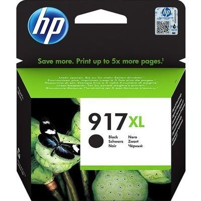 HP - HP 917XL 3YL85AE Siyah Orjinal Kartuş Extra Yüksek Kapasite OfficeJet Pro 8022, 8024, 8025