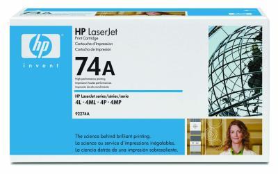 HP - HP 92274A (74A) SİYAH ORJİNAL LAZER TONER (B)