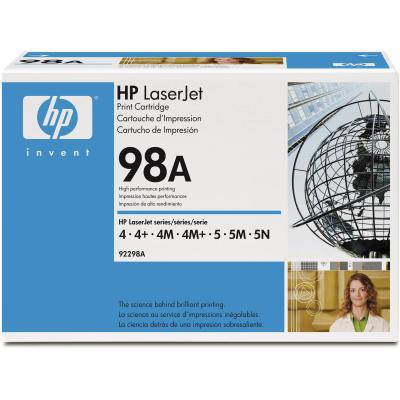 HP - HP 92298A (98A) SİYAH ORJİNAL TONER-4m / 5m SERİSİ TONERİ (B)