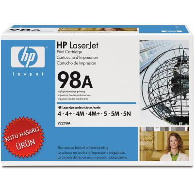 HP - HP 92298A (98A) SİYAH ORJİNAL TONER - 4m / 5m SERİSİ TONERİ (C)