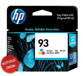 HP - HP 93 C9361WA Renkli Orinal Kartuş (U)