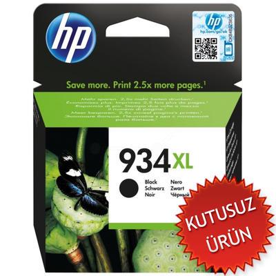 HP - HP 934XL C2P23A SİYAH ORJİNAL KARTUŞ Yüks. Kap. (U)
