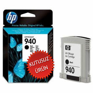 HP - HP 940 C4902A SİYAH ORJİNAL KARTUŞ (U)