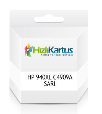 HP - HP 940XL C4909A SARI MUADİL KARTUŞ - PRO 8000 / 8500