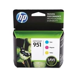 HP - HP 951 Sarı / Kırmızı / Mavi 3lü Set Kartuş (CR314FN) - Pro 8600