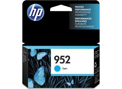 HP - HP 952 L0S49AN Mavi Orjinal Kartuş OfficeJet Pro 7720, 7740, 8740