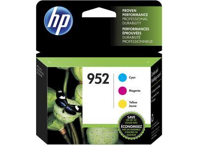 HP - HP 952 Mavi / Kırmızı / Sarı Orjinal Kartuş 3'lü Paket N9K27AN - OfficeJet Pro 7720 / 7740