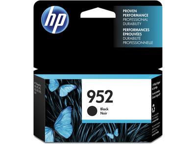 HP - HP 952 F6U15AN Siyah Orjinal Kartuş OfficeJet Pro 7720, 7740, 8740
