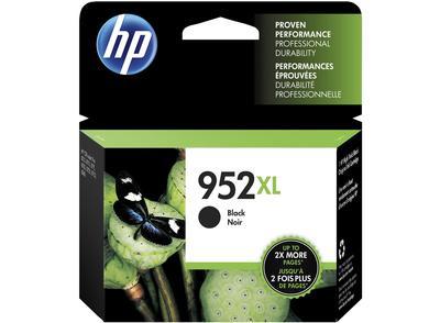HP - HP 952XL F6U19AN Siyah Orjinal Kartuş Yüksek Kapasite OfficeJet Pro 7720, 7740, 8740