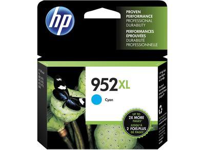 HP - HP 952XL L0S61AN Mavi Orjinal Kartuş Yüksek Kapasite OfficeJet Pro 7720, 7740, 8740