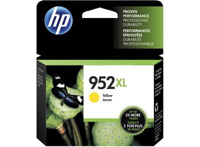 HP - HP 952XL L0S67AN Sarı Orjinal Kartuş Yüksek Kapasite OfficeJet Pro 7720, 7740, 8740