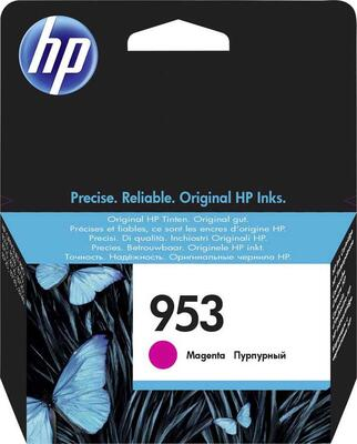 HP - HP 953 F6U13AE Kırmızı Orjinal Kartuş - 7740 / 8210