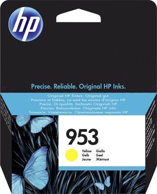 HP - HP 953 F6U14AE Sarı Orjinal Kartuş - 7740 / 8210