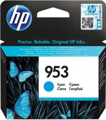 HP - HP 953 F6U12AE Mavi Orjinal Kartuş - 7740 / 8210