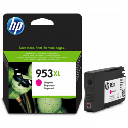 HP - HP 953XL F6U17AE KIRMIZI ORJİNAL KARTUŞ OfficeJet 7740 / 8210 / 8710 / 8712 / 8725