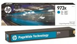 HP - HP 973X F6T81AE MAVİ ORJİNAL PageWide KARTUŞU-PageWide Pro 452/477