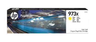 HP - HP 973X F6T83AE SARI ORJİNAL PageWide KARTUŞU-PageWide Pro 452/477