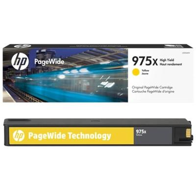 HP - HP 975X L0S06AA Sarı Orjinal PageWide Kartuşu - Pro 452dw, 552dw, 477dw, 557dw, 577z