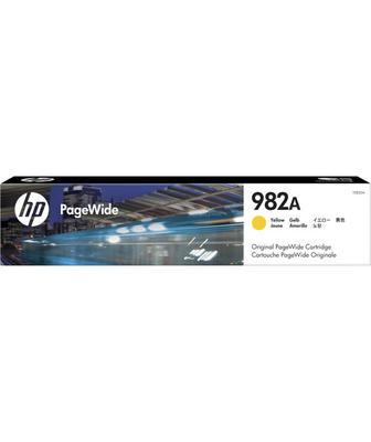 HP - HP 982A T0B25A Sarı Orjinal Kartuş PageWide Color 765, 780, 785