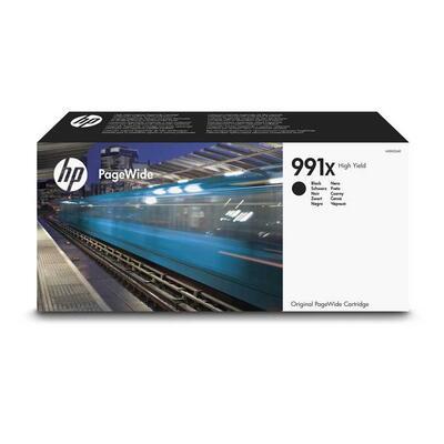 HP - HP 991X M0K02AE Yüksek Kapasite Siyah Orjinal Kartuş - PageWide Pro 750dw / MFP 772dn