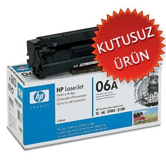 HP - HP C3906A (06A) Siyah Orjinal Lazer Toner (U)