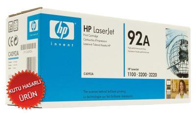 HP - HP C4092A (92A) SİYAH ORJİNAL TONER (C)