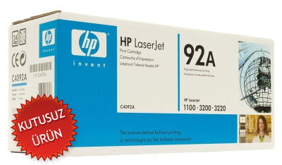 HP - HP C4092A (92A) SİYAH ORJİNAL TONER (U)
