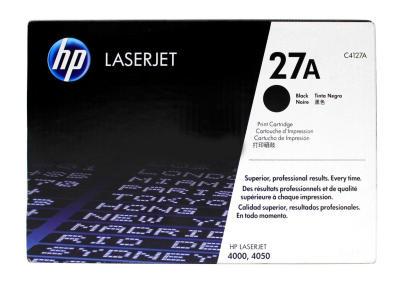 HP - HP C4127A (27A) SİYAH ORJİNAL TONER - HP LaserJet 4000/4050 YAZICI TONERİ