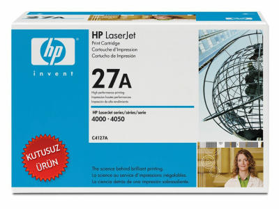 HP - HP C4127A (27A) SİYAH ORJİNAL TONER (U)