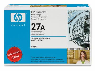 HP - HP C4127A (27A) SİYAH ORJİNAL TONER (C)