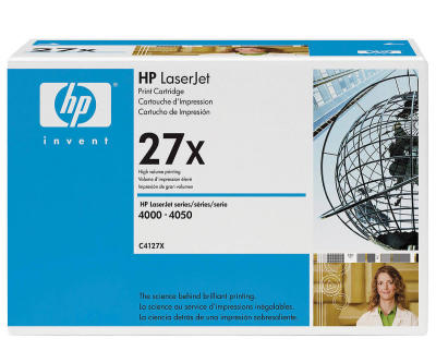 HP - HP C4127X (27X) SİYAH ORJİNAL TONER (B)