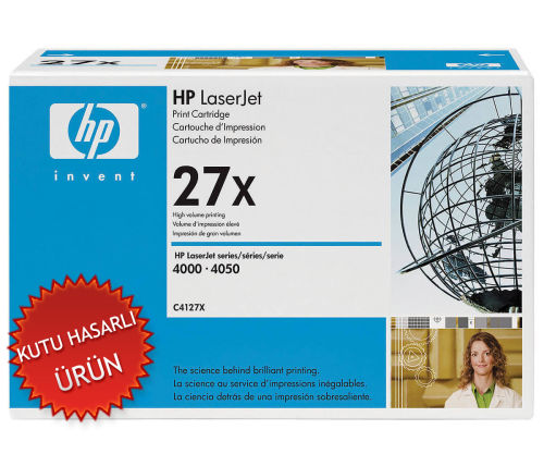 HP C4127X (27X) SİYAH ORJİNAL TONER (C)