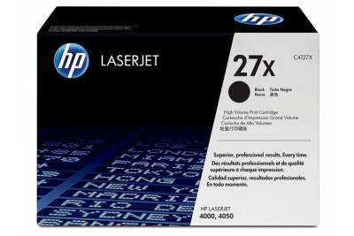 HP - HP C4127X (27X) SİYAH ORJİNAL TONER - HP LaserJet 4000/4050 YAZICI TONERİ