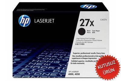 HP - HP C4127X (27X) SİYAH ORJİNAL TONER (U)
