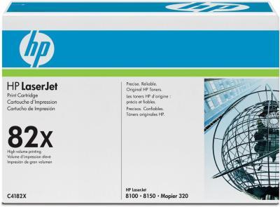 HP - HP C4182X (82X) SİYAH ORJİNAL TONER (B)