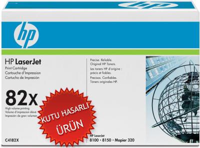 HP - HP C4182X (82X) SİYAH ORJİNAL TONER (C)