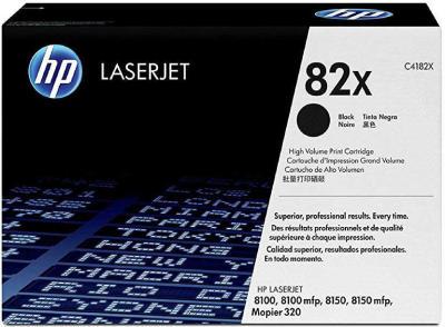 HP - HP C4182X (82X) SİYAH ORJİNAL TONER Laserjet 8100 / 8150