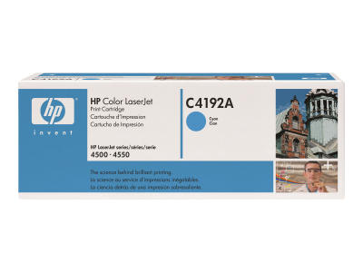 HP - HP C4192A MAVİ ORJİNAL TONER (B)