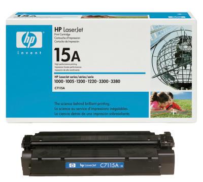 HP - HP C7115A (15A) SİYAH ORJİNAL LAZER TONER (B)