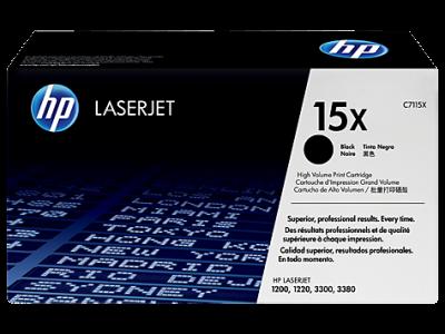 HP - HP C7115X (15X) SİYAH ORJİNAL LAZER TONER - Laserjet 1200 / 1220 / 3320 / 3380