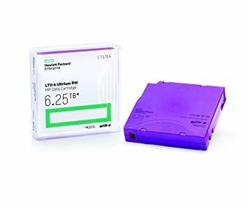 HP - HP C7976A LTO6 6.25 TB Ultrium MP RW Data Kartuşu