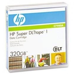 HP - HP C7980A SDLT1 Super DLT-1 160Gb/320Gb 559m, 12.65mm DATA KARTUŞU