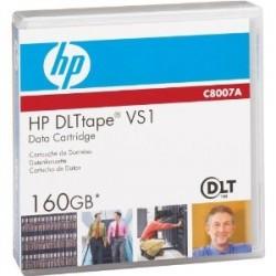 HP - HP C8007A, DLT VS1, VS160, 80Gb/160Gb, 563m, 12.65mm DATA KARTUŞU