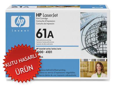 HP - HP C8061A (61A) SİYAH ORJİNAL TONER - HP LASERJET 4100 YAZICI TONERİ (C)