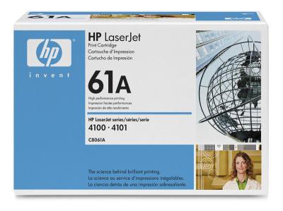 HP - HP C8061A (61A) SİYAH ORJİNAL TONER - HP LASERJET 4100 YAZICI TONERİ (B)