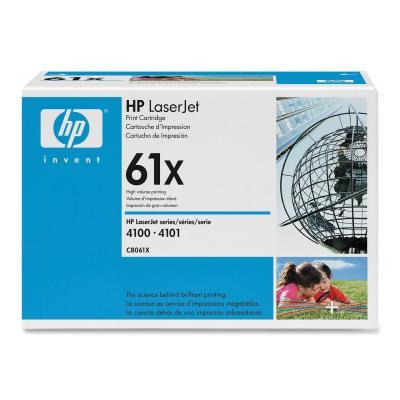 HP - HP C8061X (61X) SİYAH ORJİNAL TONER (B)